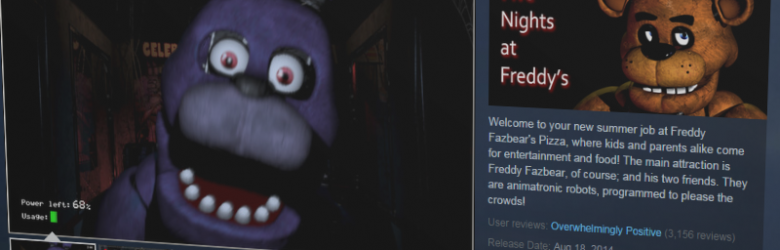 Steam's Five Nights at Freddy page